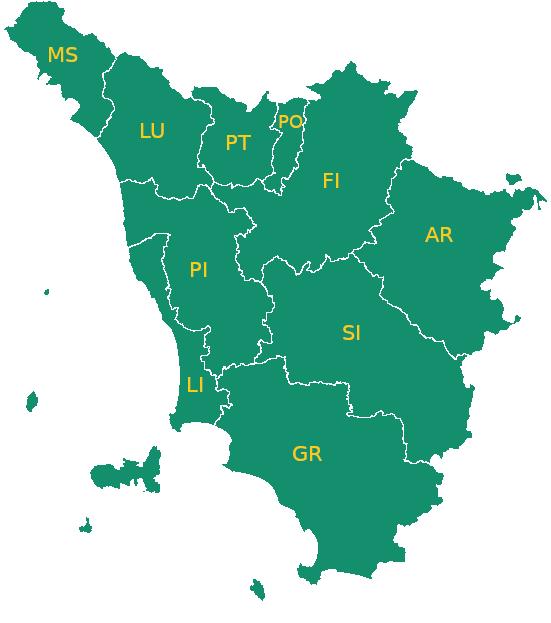Toscana Fisica Cartina.Sistema Toscano Servizi Per Le Imprese Suap Portal